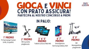 Gioca e vinci con Prato Assicura: concorso a premi